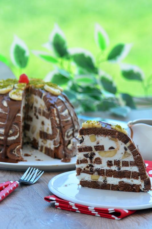 muzlu kubbe pasta ve malzemeleri