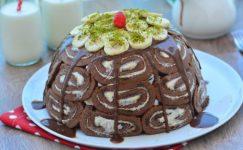Muzlu Kubbe Görünümlü Pasta Tarifi ve Detayları