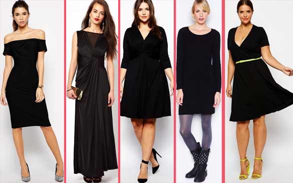 Siyah Elbise Kombinleri İle Gözler Üzerinizde Olacak