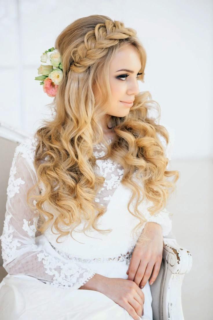 Düğün İçin Saç Modelleri 2019