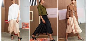 Giymekten Zevk Alacağınız Pileli Etek Kombinleri