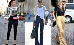 Yüksek Bel Pantolon Kombinleri İçin En İyi Öneriler