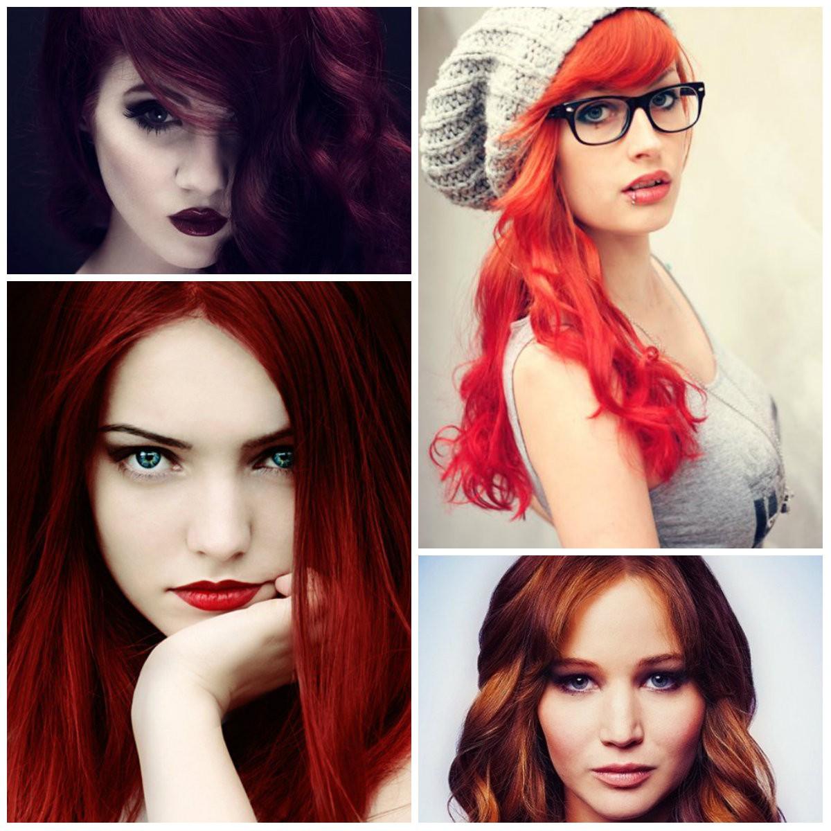 Kızıl Saç Rengi ve Tonları 2019