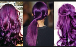 Mor Saç Rengi Hakkında Bilinmesi Gerekenler