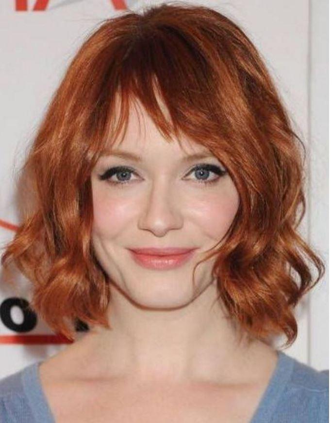 Bakır Kızıl Saç Rengimodelleri Ve Boya Numaraları Kombin Kadın