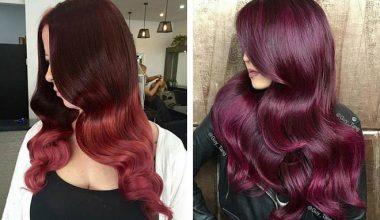 Koyu Kızıl Saç Rengi,Saç Modeli ve Saç Boya Numarası