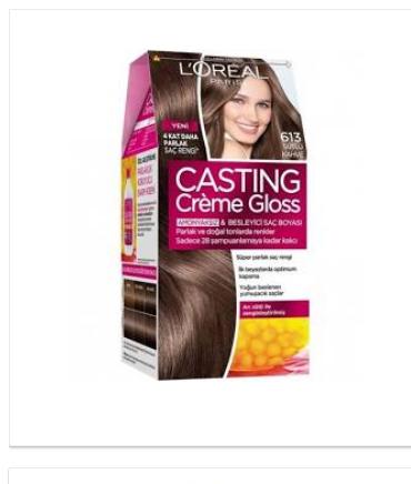 Loreal Sütlü Kahve Saç Boyası Ve Numarası Kombin Kadın