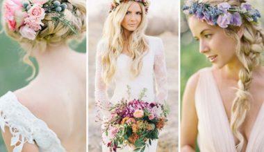 Kır Düğünü Saç Modelleri İçin En İyi Öneriler