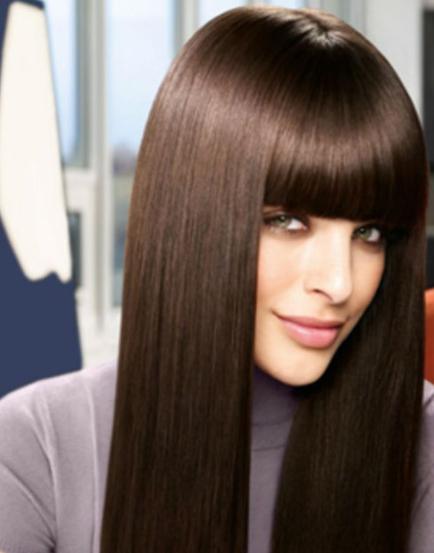 Sıcak çikolata Saç Rengi Bakımı Kombin Kadın