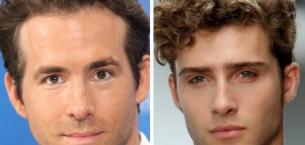 Üçgen ve Ters Üçgen Yüzlü Erkeklere Yakışan Saç Modelleri