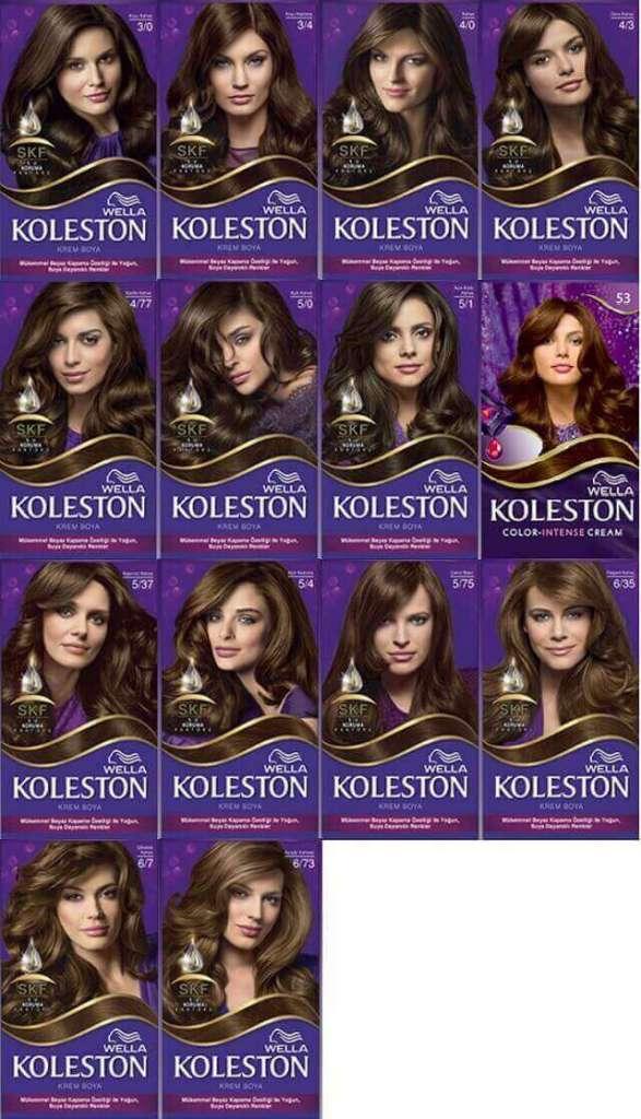 2019 2020 Koleston Renk Kataloğu Kombin Kadın
