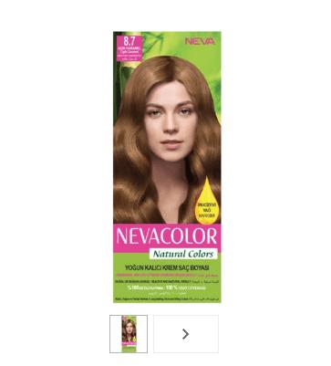 Açık Karamel Saç Boyası Numarası