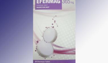 Efermag 365 Mg 30 Efervesan Tablet Niçin Kullanılır?