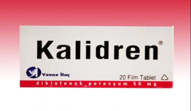 Kalidren 50 Mg Film Tablet Niçin Kullanılır?