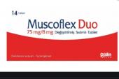 Muscoflex Duo 75/8 Değiştirilmiş Salımlı Tablet Niçin Kullanılır?