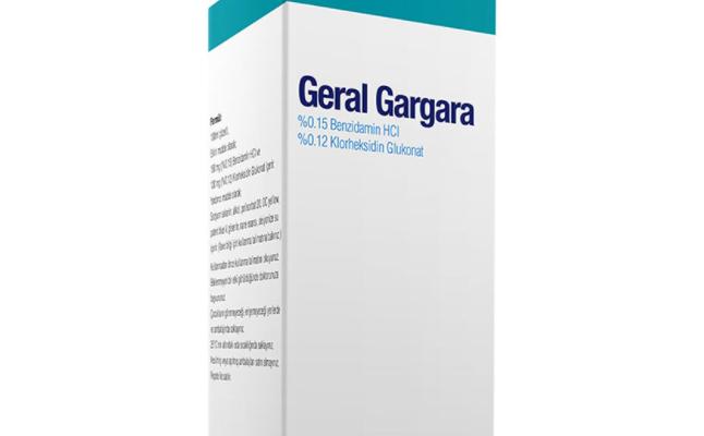 Geral Gargara Niçin Kullanılır, Fiyatı?
